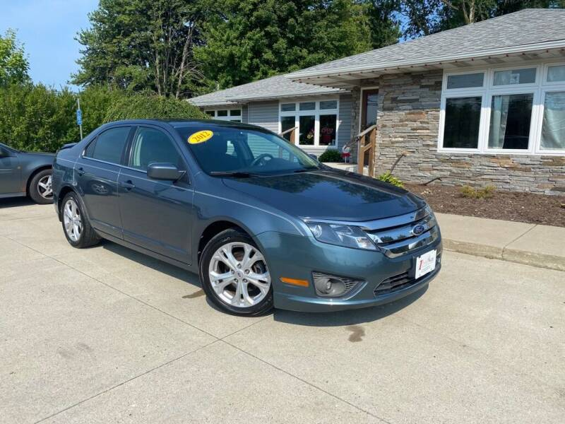 2012 Ford Fusion for sale at 1st Choice Auto, LLC in Fairview PA