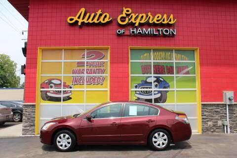2011 Nissan Altima for sale at AUTO EXPRESS OF HAMILTON LLC in Hamilton OH