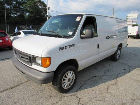 2007 Ford E-Series Cargo for sale at King of Auto in Stone Mountain GA
