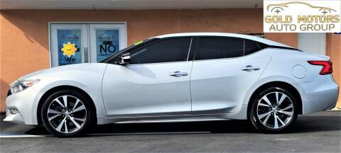 2017 Nissan Maxima for sale at Gold Motors Auto Group Inc in Tampa FL