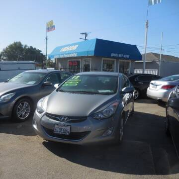 2012 Hyundai Elantra for sale at Luxor Motors Inc in Pacoima CA