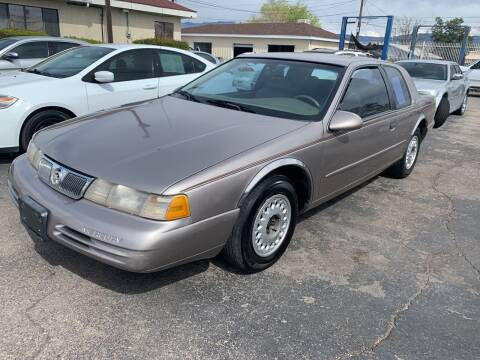 1995 Mercury Cougar for sale at Robert B Gibson Auto Sales INC in Albuquerque NM