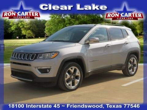2019 Jeep Compass for sale at Ron Carter  Clear Lake Used Cars in Houston TX