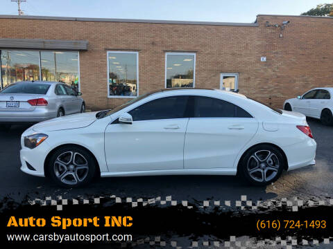 2014 Mercedes-Benz CLA for sale at Auto Sport INC in Grand Rapids MI