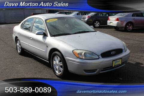 2005 Ford Taurus for sale at Dave Morton Auto Sales in Salem OR