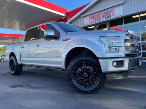 2015 Ford F-150 for sale at Furrst Class Cars LLC  - Independence Blvd. in Charlotte NC