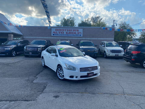 2009 Nissan Maxima for sale at Brothers Auto Group in Youngstown OH