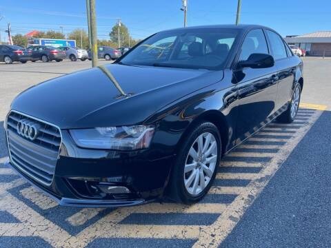 2014 Audi A4 for sale at Auto America - Monroe in Monroe NC