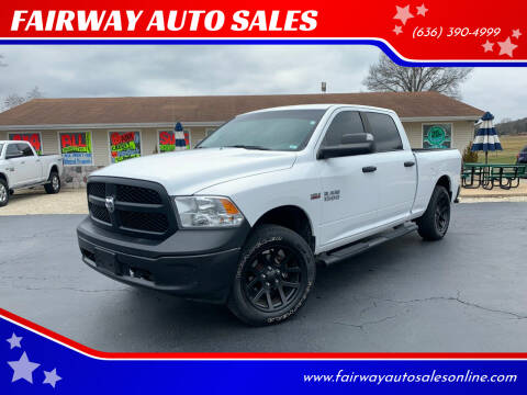 2018 RAM Ram Pickup 1500 for sale at FAIRWAY AUTO SALES in Washington MO