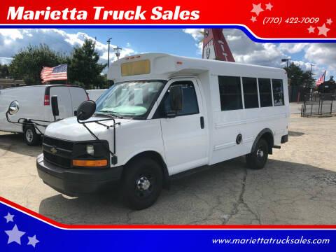 2011 Chevrolet Express Cutaway for sale at Marietta Truck Sales in Marietta GA