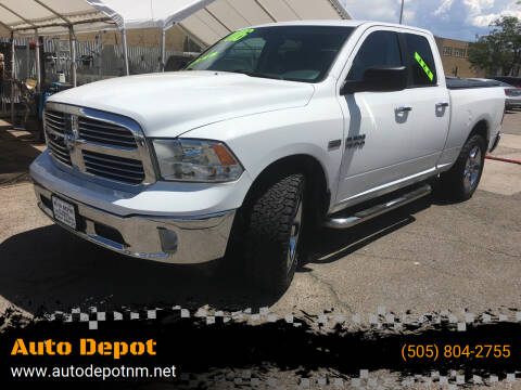 2016 RAM Ram Pickup 1500 for sale at Auto Depot in Albuquerque NM