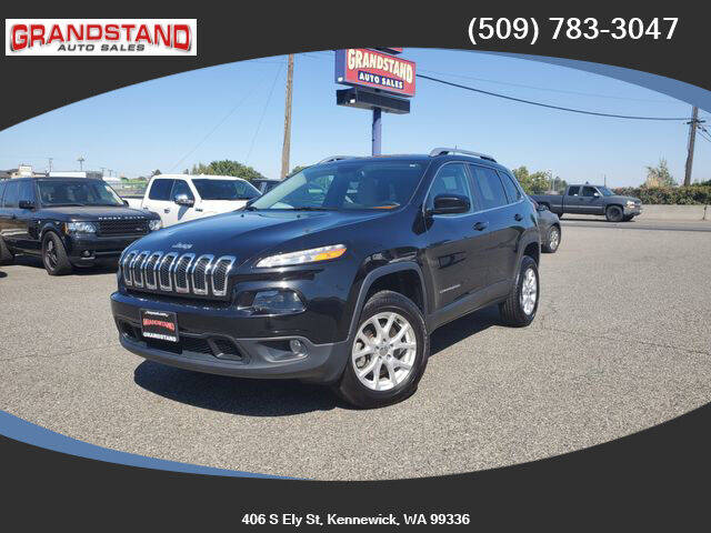 2015 Jeep Cherokee for sale at Grandstand Auto Sales in Kennewick WA