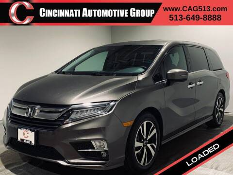 2018 Honda Odyssey for sale at Cincinnati Automotive Group in Lebanon OH