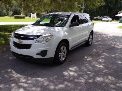 2012 Chevrolet Equinox for sale at LANCASTER'S AUTO SALES INC in Fruitland Park FL