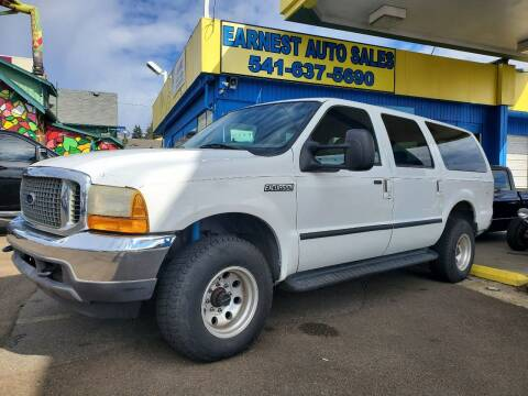2001 Ford Excursion for sale at Earnest Auto Sales in Roseburg OR