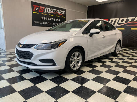 2017 Chevrolet Cruze for sale at T & S Motors in Ardmore TN