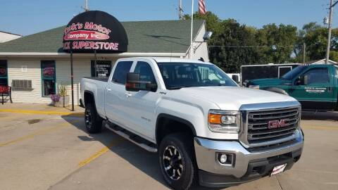 2018 GMC Sierra 2500HD for sale at DICK'S MOTOR CO INC in Grand Island NE