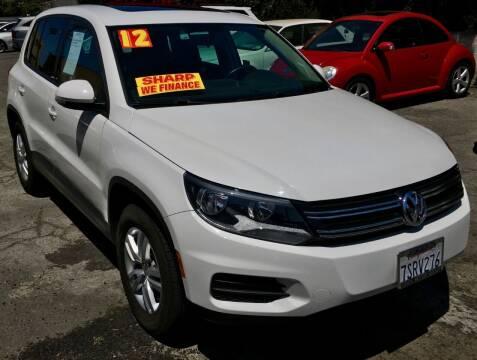 2012 Volkswagen Tiguan for sale at Eden Motor Group in Los Angeles CA