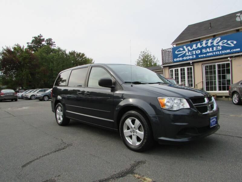 2013 Dodge Grand Caravan for sale at Shuttles Auto Sales LLC in Hooksett NH