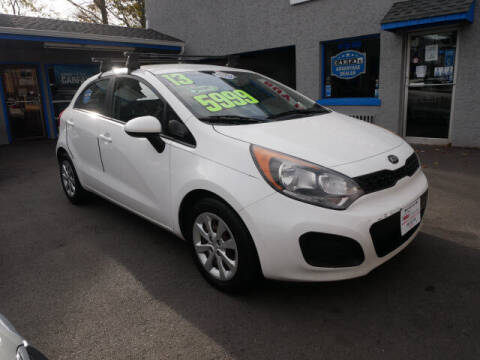 2013 Kia Rio 5-Door for sale at M & R Auto Sales INC. in North Plainfield NJ