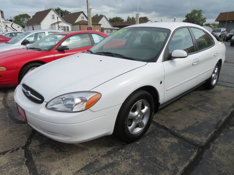 2001 Ford Taurus for sale at Bells Auto Sales in Hammond IN