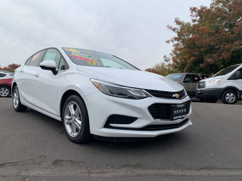 2018 Chevrolet Cruze for sale at 5 Star Auto Sales in Modesto CA