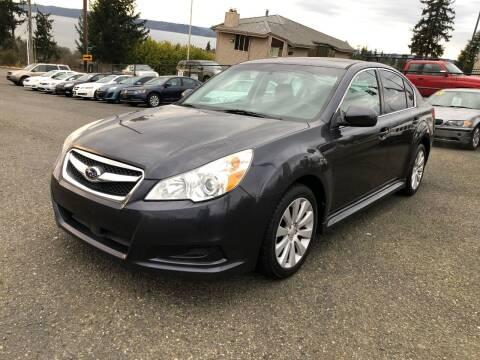 2011 Subaru Legacy for sale at KARMA AUTO SALES in Federal Way WA