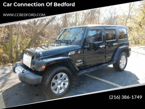 2012 Jeep Wrangler Unlimited for sale at Car Connection of Bedford in Bedford OH