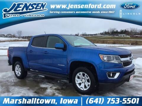 2018 Chevrolet Colorado for sale at JENSEN FORD LINCOLN MERCURY in Marshalltown IA