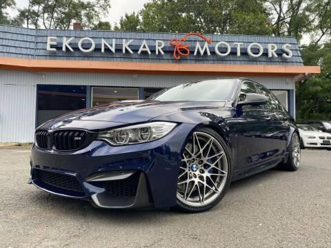2017 BMW M3 for sale at Ekonkar Motors in Scotch Plains NJ
