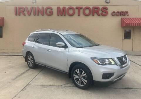 2018 Nissan Pathfinder for sale at Irving Motors Corp in San Antonio TX