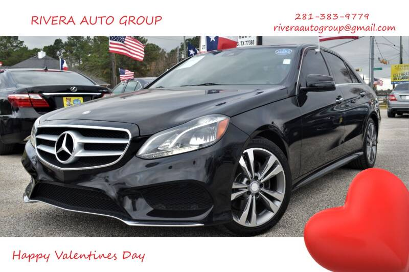 2014 Mercedes-Benz E-Class for sale at Rivera Auto Group in Spring TX