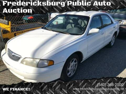 1999 Mazda 626 for sale at FPAA in Fredericksburg VA