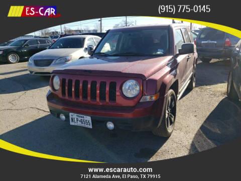 2014 Jeep Patriot for sale at Escar Auto in El Paso TX