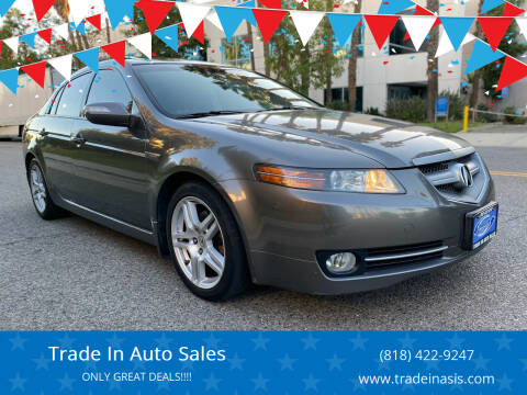 2008 Acura TL for sale at Trade In Auto Sales in Van Nuys CA