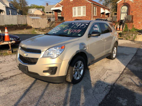 2012 Chevrolet Equinox for sale at Kneezle Auto Sales in Saint Louis MO