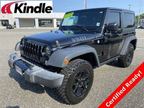 2017 Jeep Wrangler for sale at Kindle Auto Plaza in Cape May Court House NJ