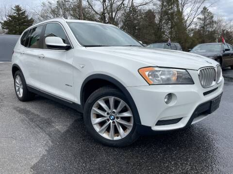 2013 BMW X3 for sale at 303 Cars in Newfield NJ