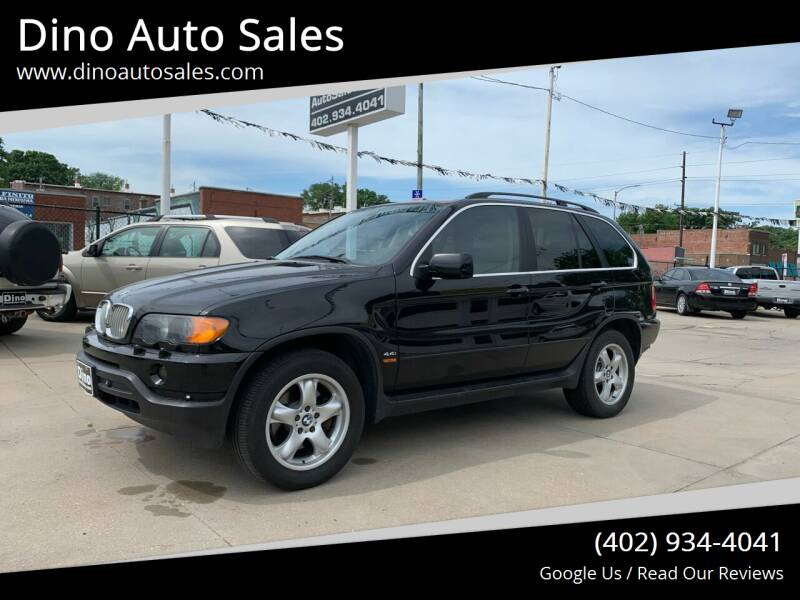 2001 BMW X5 for sale at Dino Auto Sales in Omaha NE