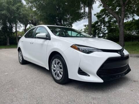2019 Toyota Corolla for sale at DELRAY AUTO MALL in Delray Beach FL