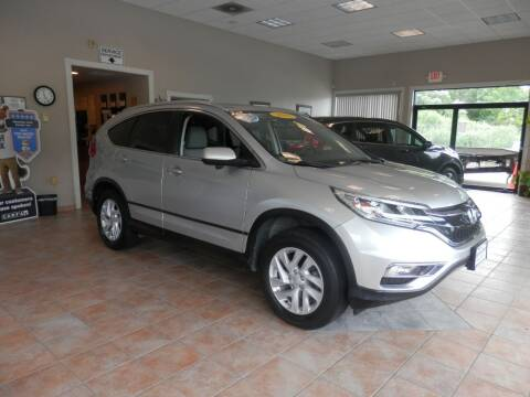 2015 Honda CR-V for sale at ABSOLUTE AUTO CENTER in Berlin CT