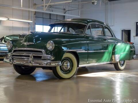 1951 Chevrolet deluxe for sale at Bill Kay Corvette's and Classic's in Downers Grove IL