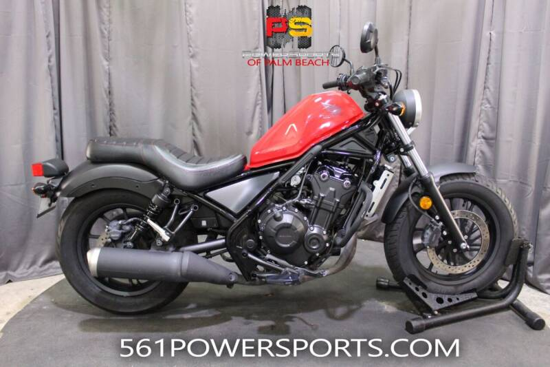 2017 Honda Rebel 500 for sale at Powersports of Palm Beach in Hollywood FL