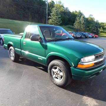 1999 Chevrolet S-10 for sale at TIM'S ALIGNMENT & AUTO SVC in Fond Du Lac WI