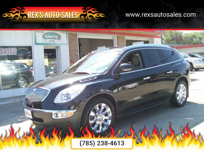 2011 Buick Enclave for sale at Rex's Auto Sales in Junction City KS
