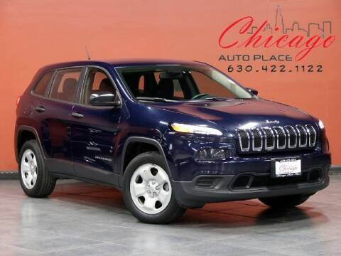 2016 Jeep Cherokee for sale at Chicago Auto Place in Bensenville IL