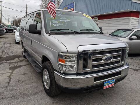 2011 Ford E-Series Wagon for sale at Peter Kay Auto Sales in Alden NY