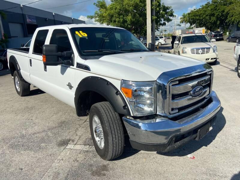 2016 Ford F-350 Super Duty for sale at Ven-Usa Autosales Inc in Miami FL