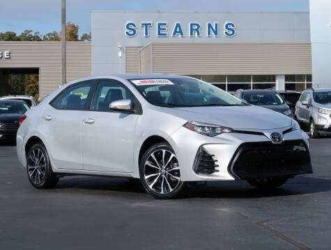 2017 Toyota Corolla for sale at Stearns Ford in Burlington NC