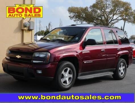 2004 Chevrolet TrailBlazer for sale at Bond Auto Sales in St Petersburg FL